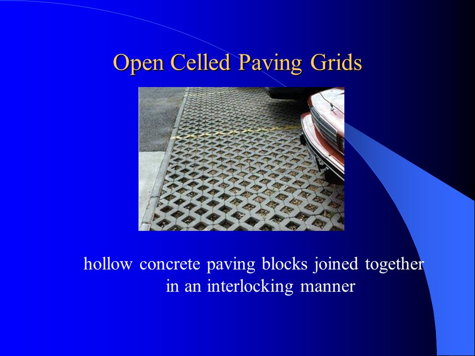 Open Celled Paving Grids