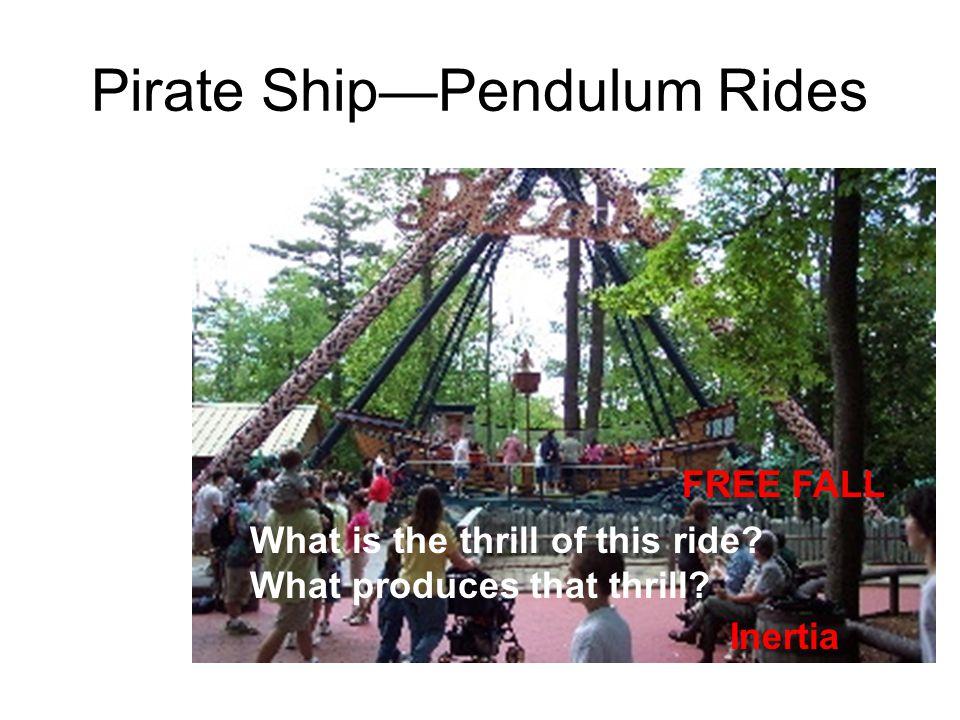 Pirate Ship—Pendulum Rides