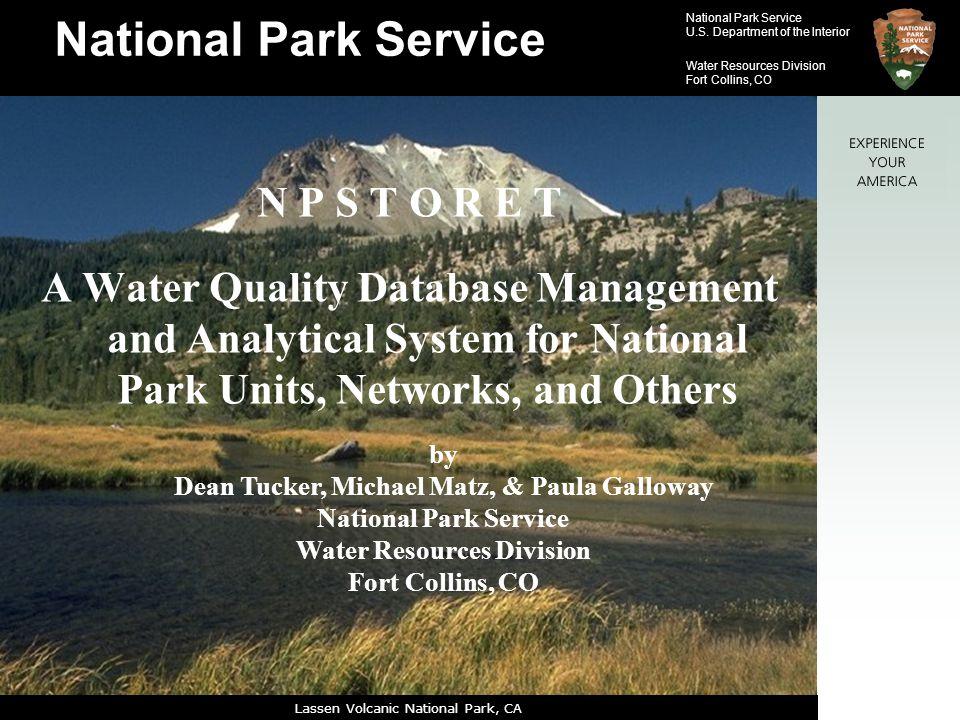 Dean Tucker, Michael Matz, & Paula Galloway Water Resources Division