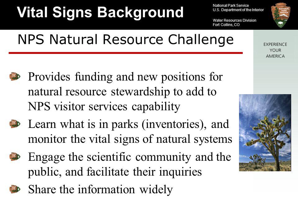 NPS Natural Resource Challenge