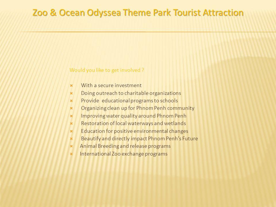 Zoo & Ocean Odyssea Theme Park Tourist Attraction