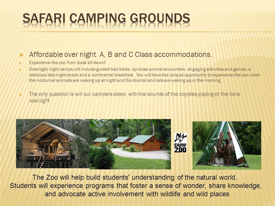 Safari Camping Grounds