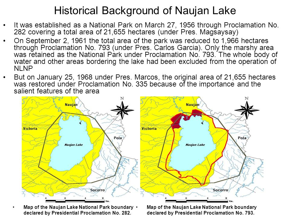 Historical Background of Naujan Lake