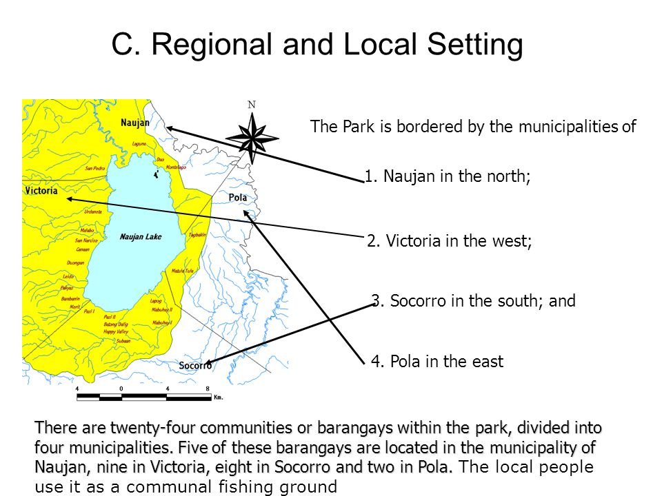 C. Regional and Local Setting