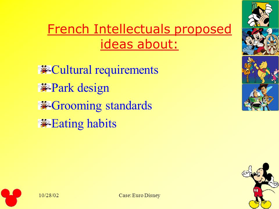 French Intellectuals proposed ideas about: