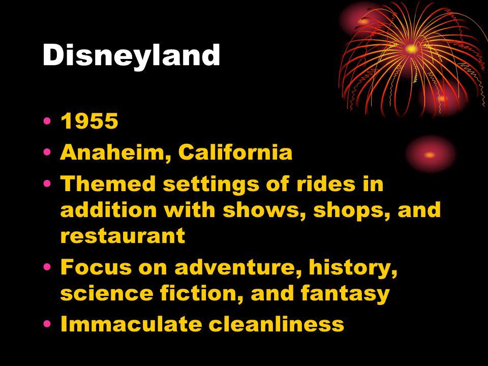 Disneyland 1955 Anaheim, California