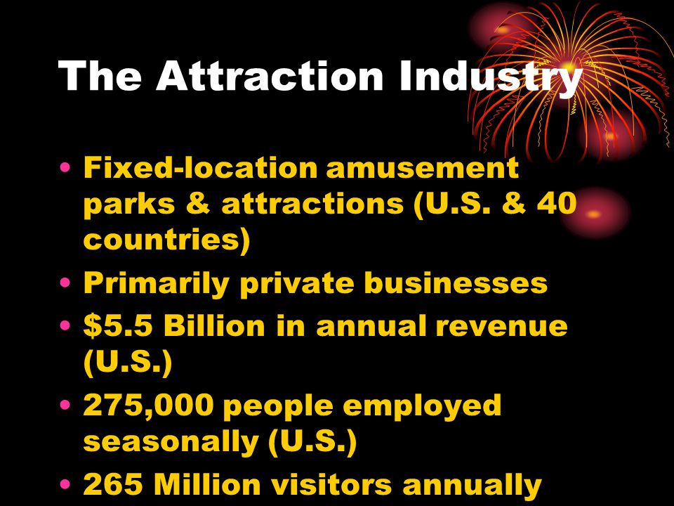 The Attraction Industry