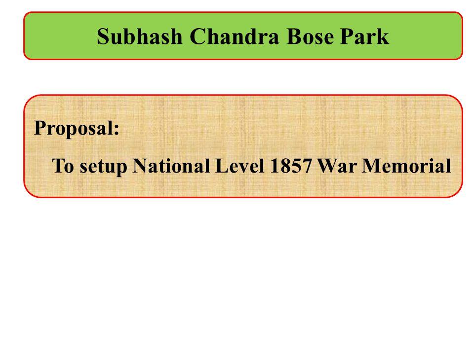 Subhash Chandra Bose Park