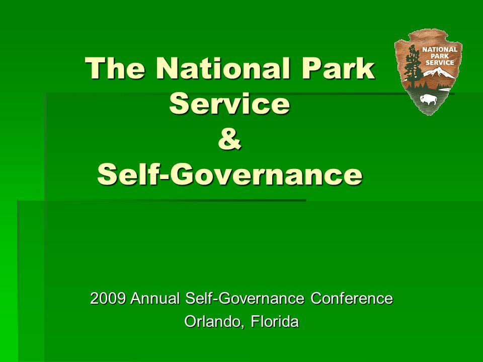 The National Park Service & Self-Governance