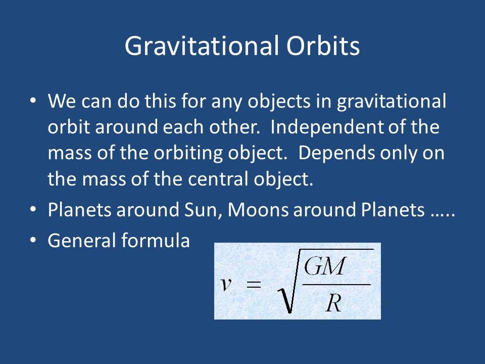 Gravitational Orbits