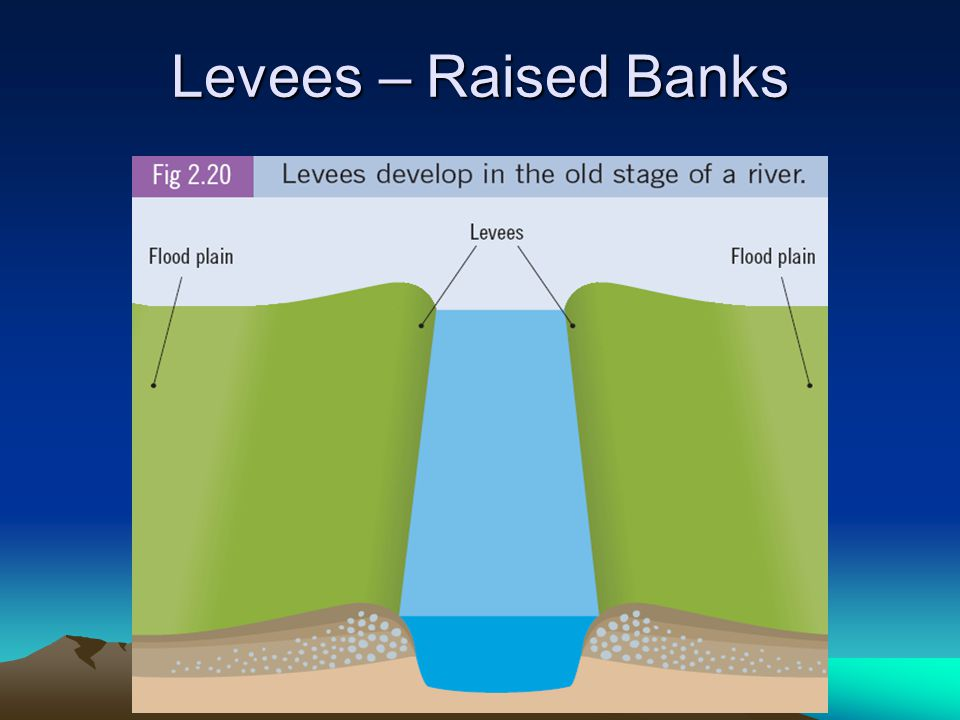 Levees – Raised Banks
