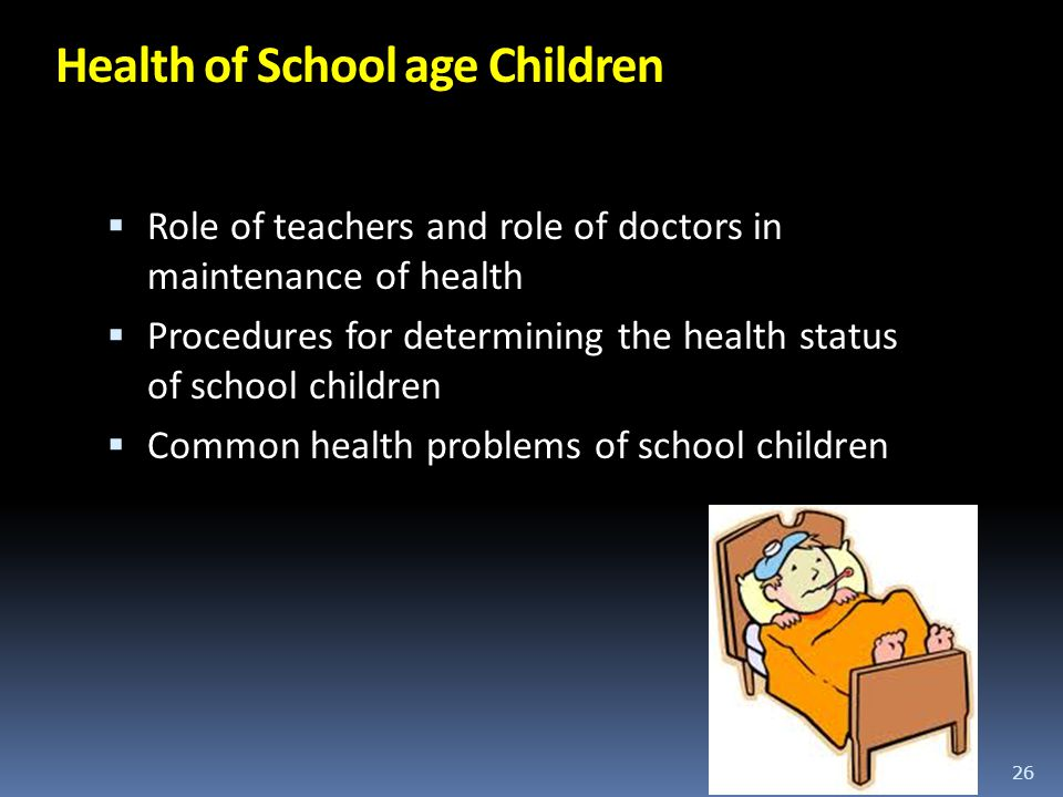 Health of School age Children