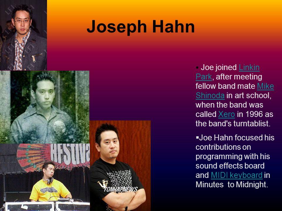 Joseph Hahn