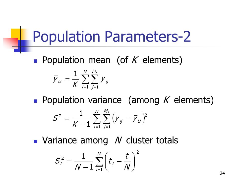 Population Parameters-2