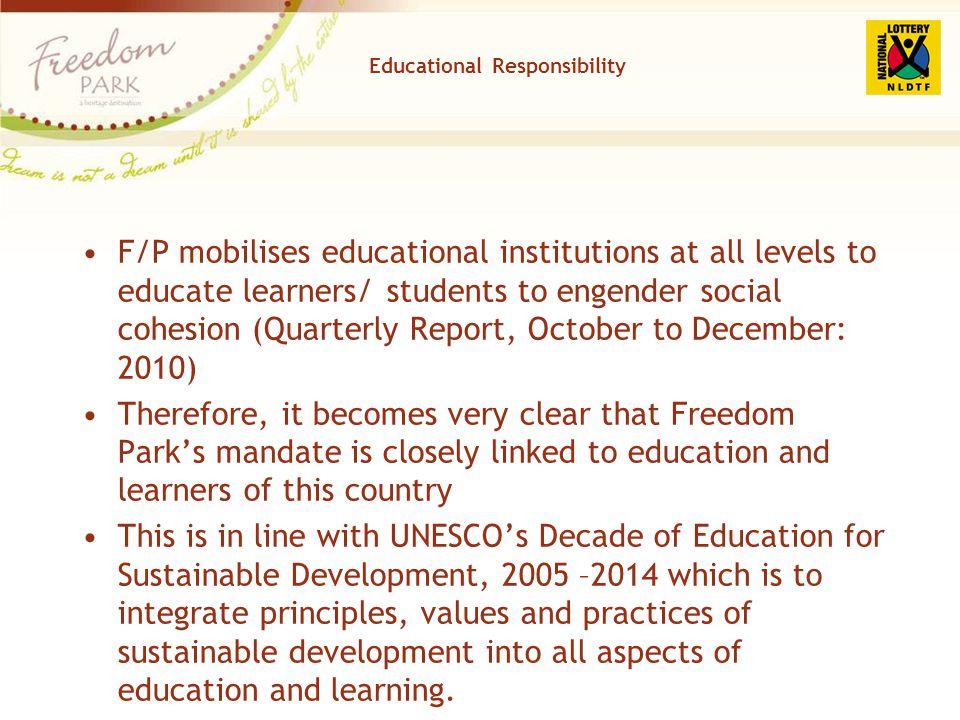 Educational Responsibility