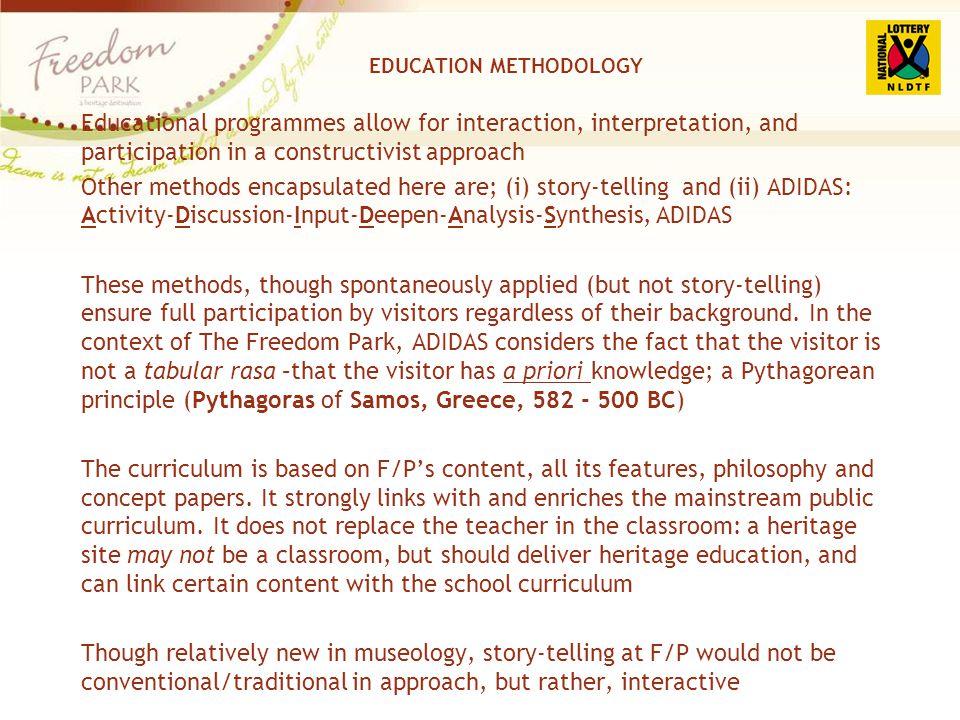 EDUCATION METHODOLOGY
