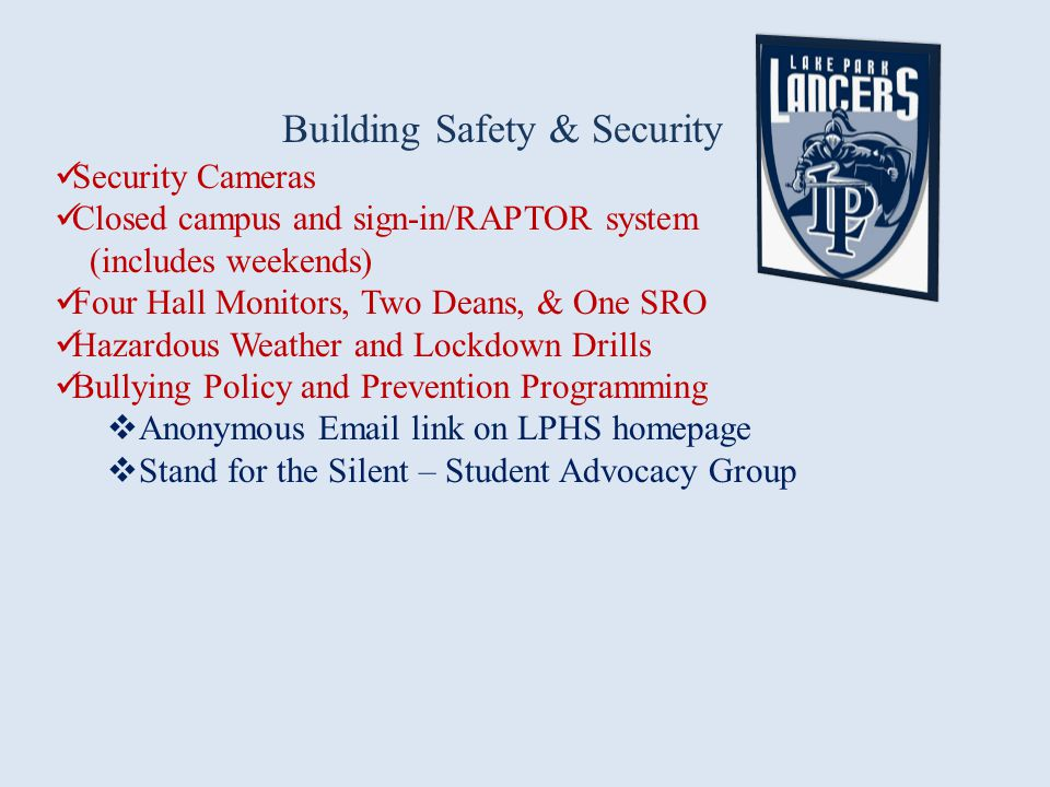 Building Safety & Security
