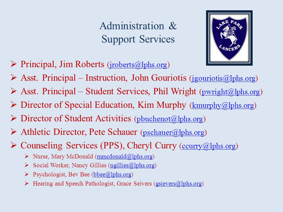Administration & Support Services
