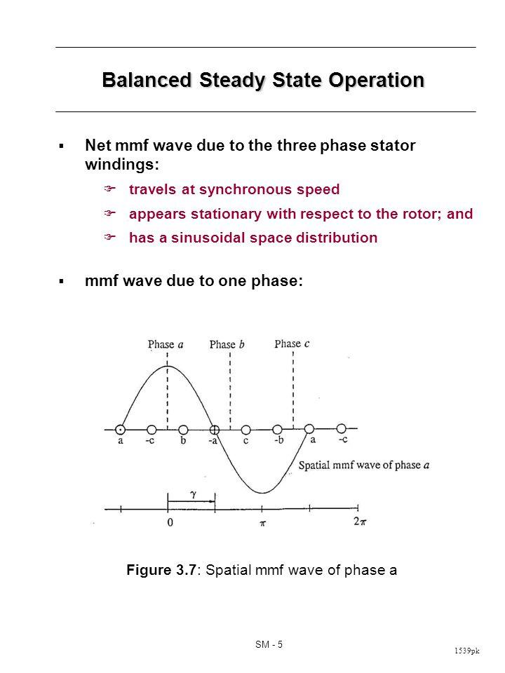 Balanced Steady State Operation