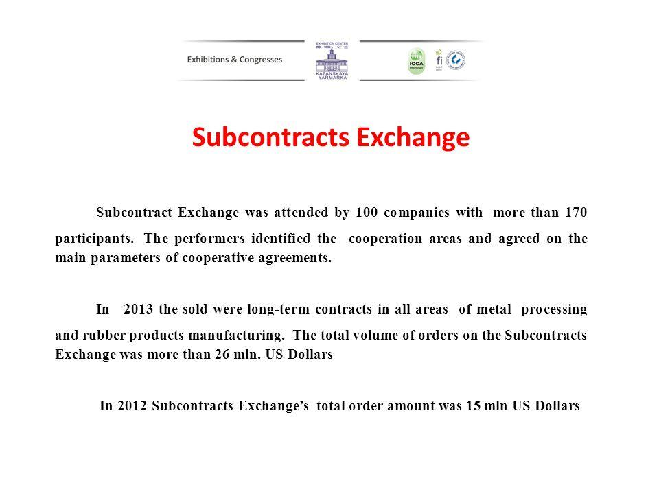 Subcontracts Exchange