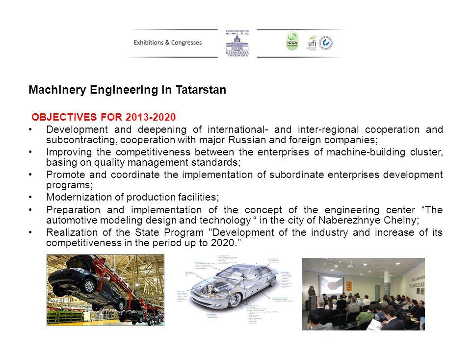 Machinery Engineering in Tatarstan