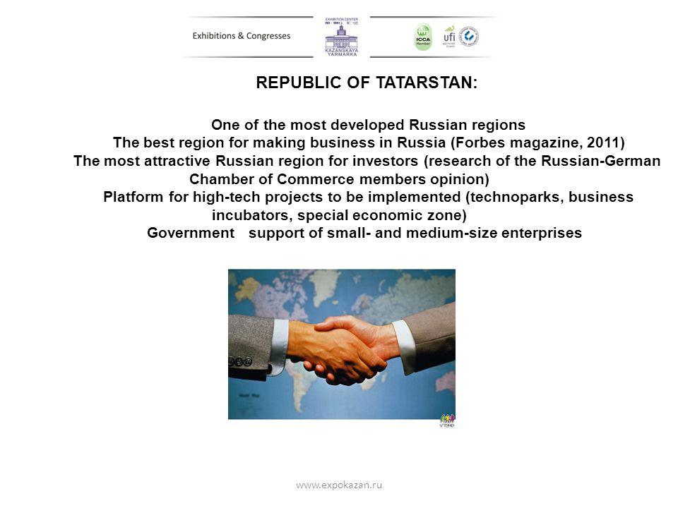 REPUBLIC OF TATARSTAN: