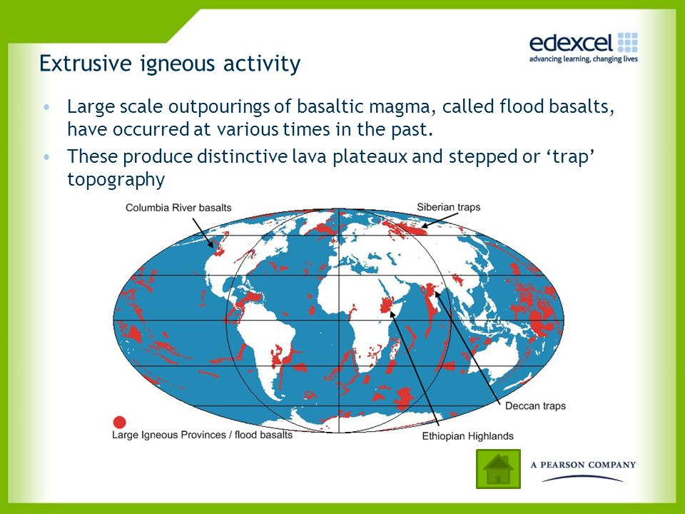 Extrusive igneous activity