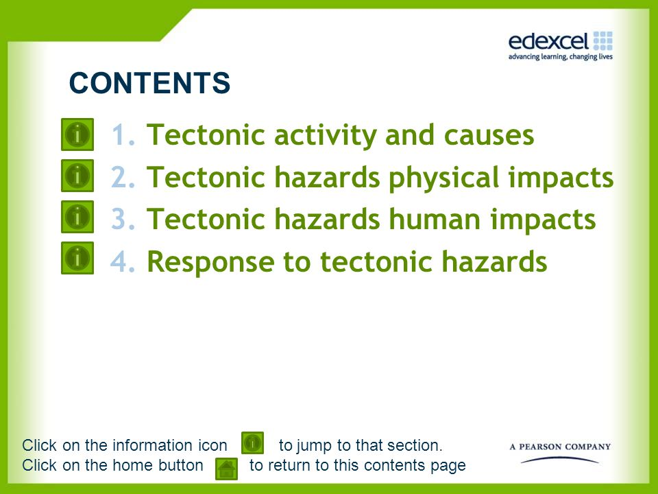 Tectonic activity and causes Tectonic hazards physical impacts