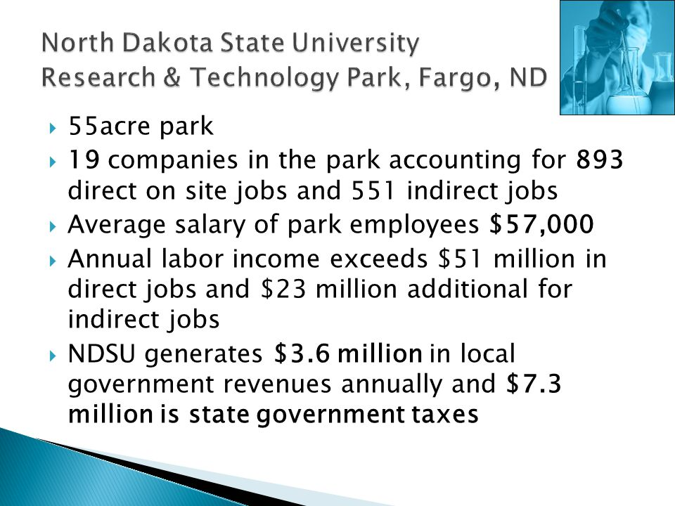 North Dakota State University Research & Technology Park, Fargo, ND
