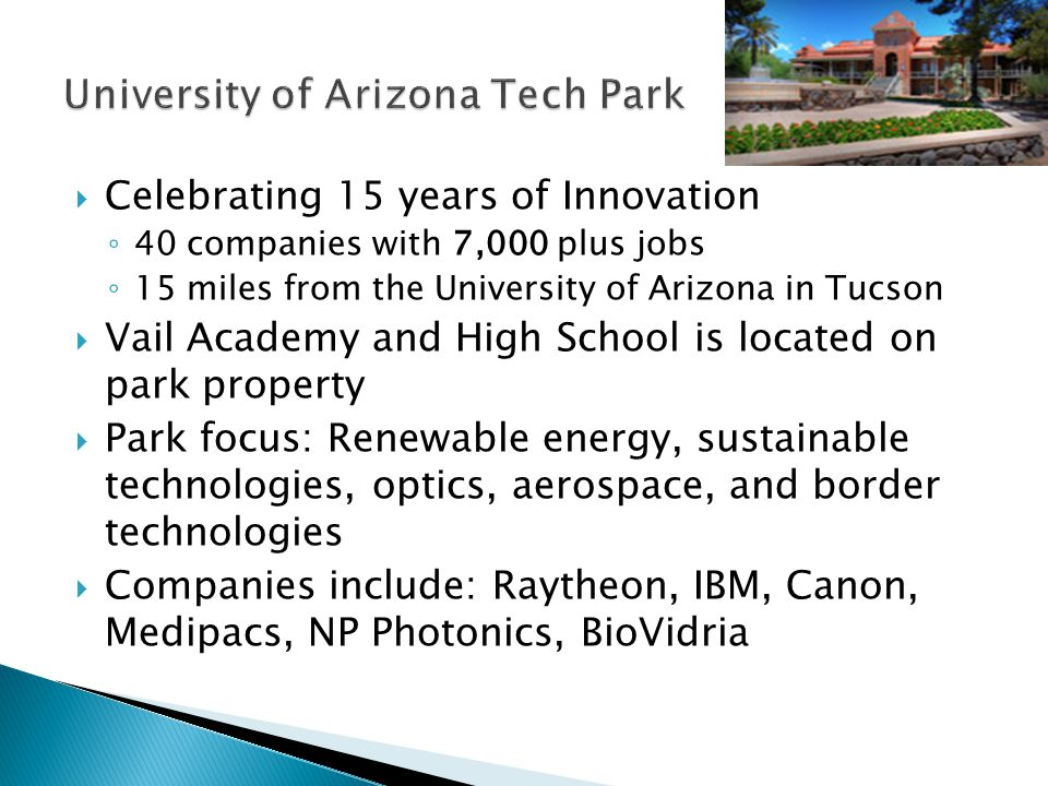 University of Arizona Tech Park