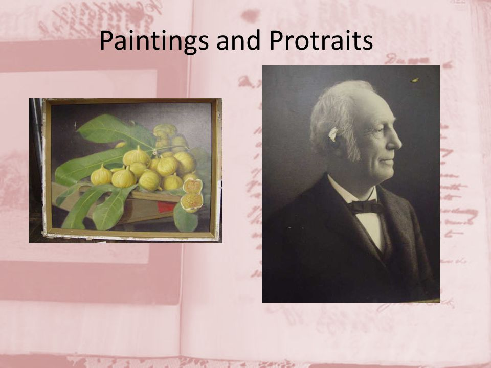 Paintings and Protraits