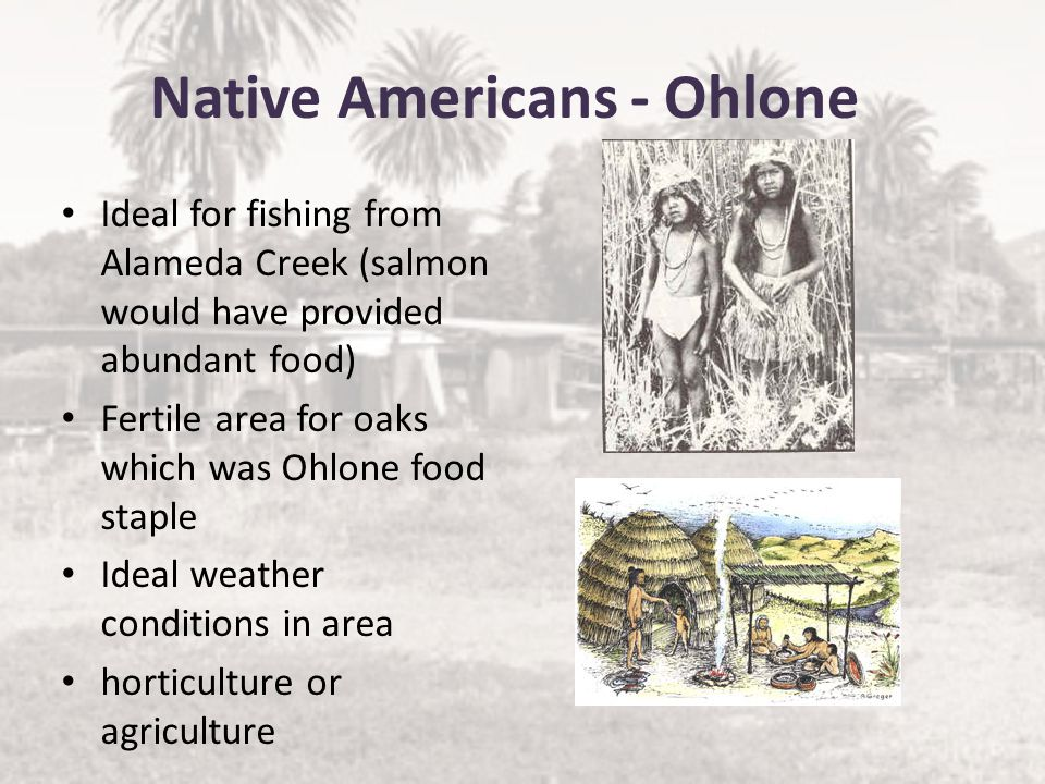 Native Americans - Ohlone