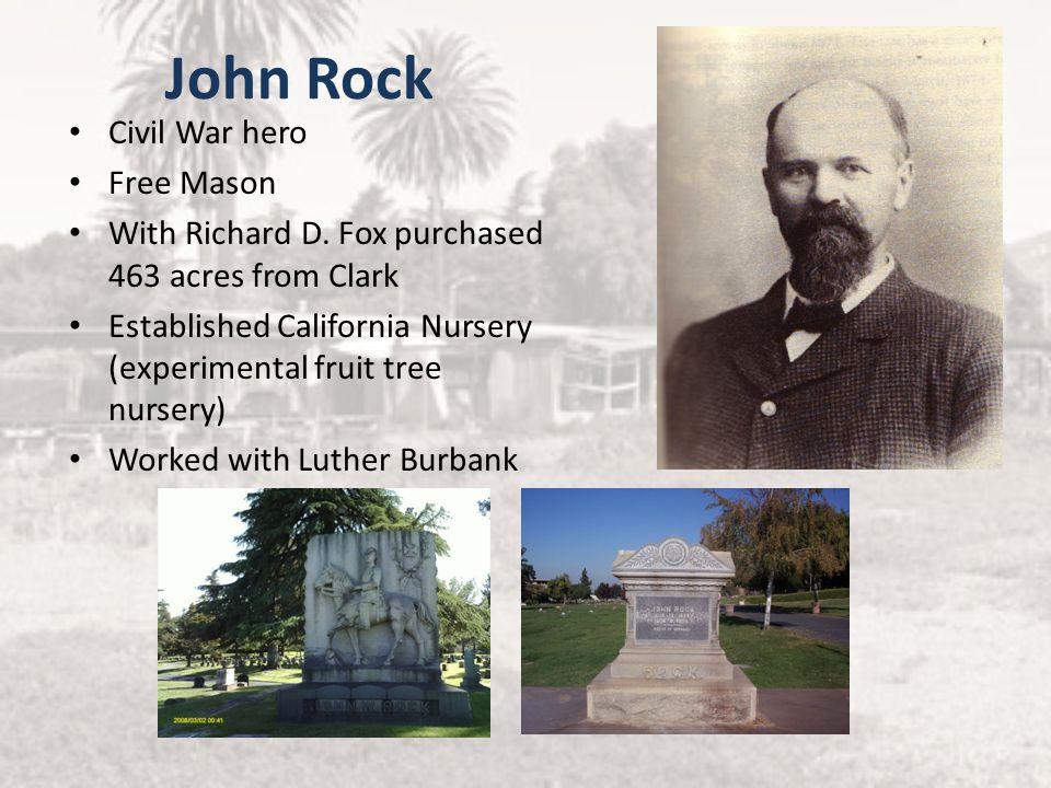 John Rock Civil War hero Free Mason