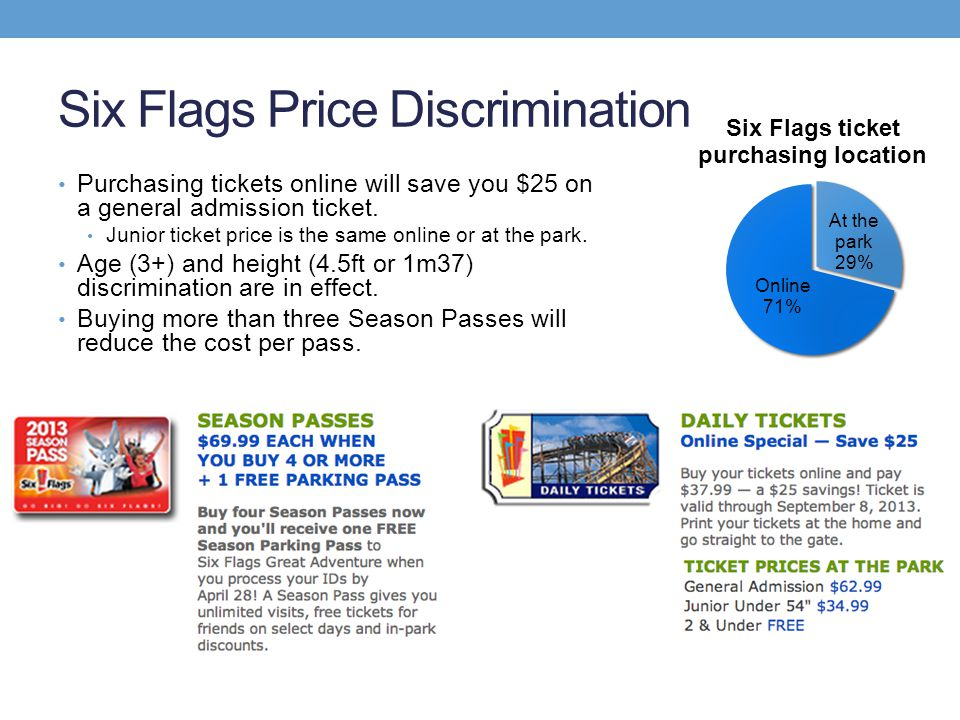 Six Flags Price Discrimination