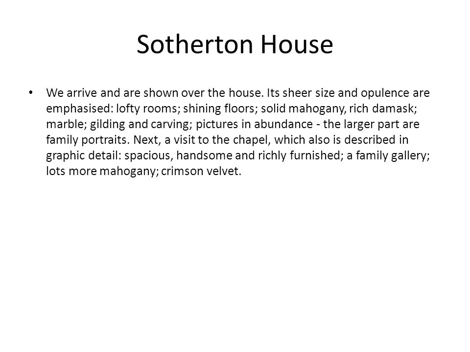 Sotherton House
