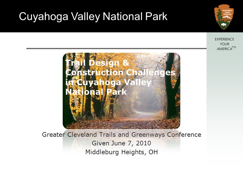 Trail Design & Construction Challenges in Cuyahoga Valley National Park