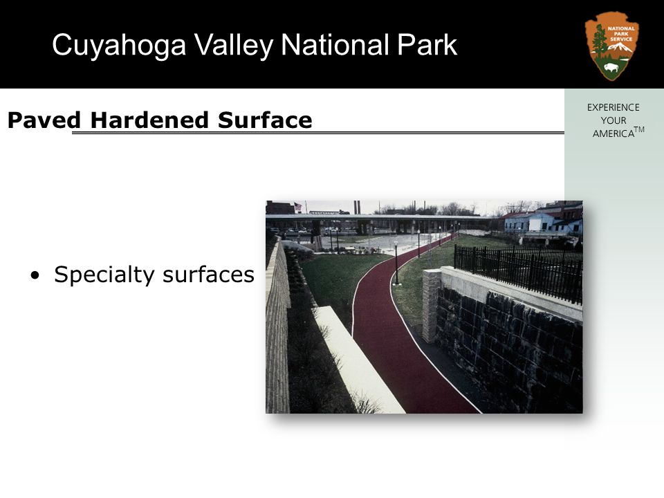 Paved Hardened Surface