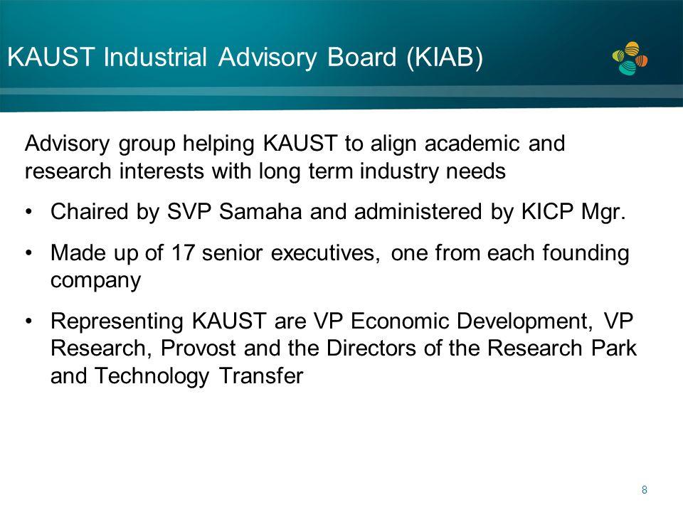 KAUST Industrial Advisory Board (KIAB)