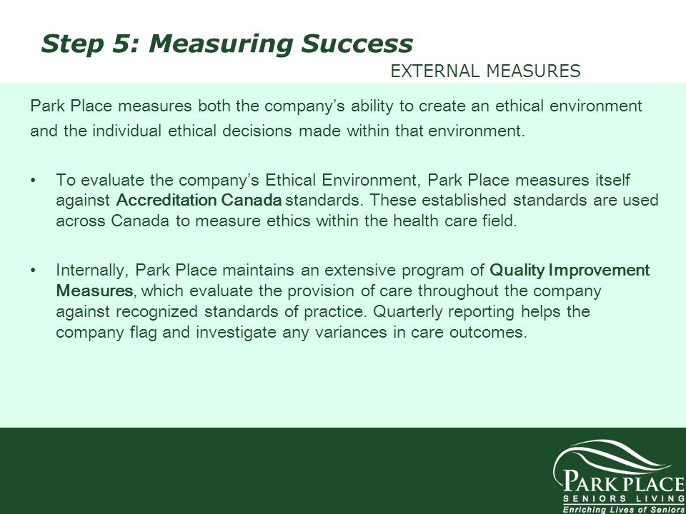 Step 5: Measuring Success