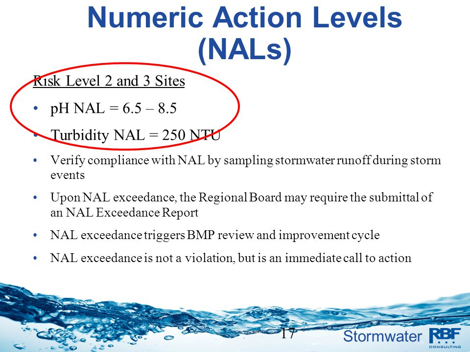 Numeric Action Levels (NALs)