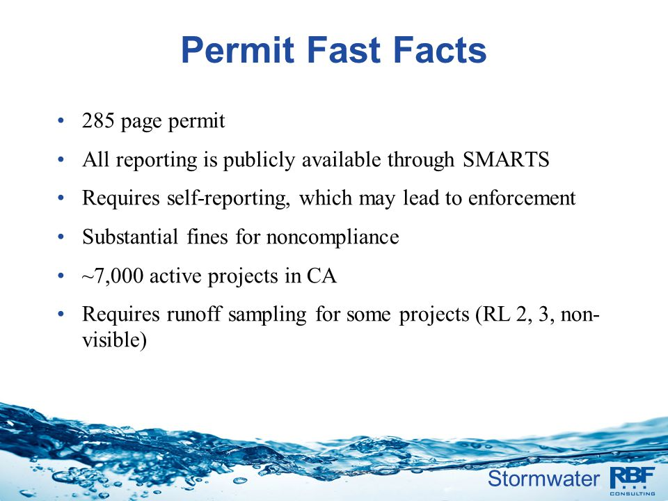 Permit Fast Facts 285 page permit
