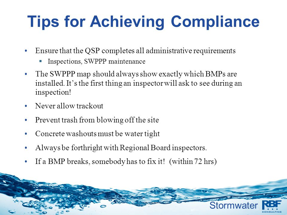 Tips for Achieving Compliance
