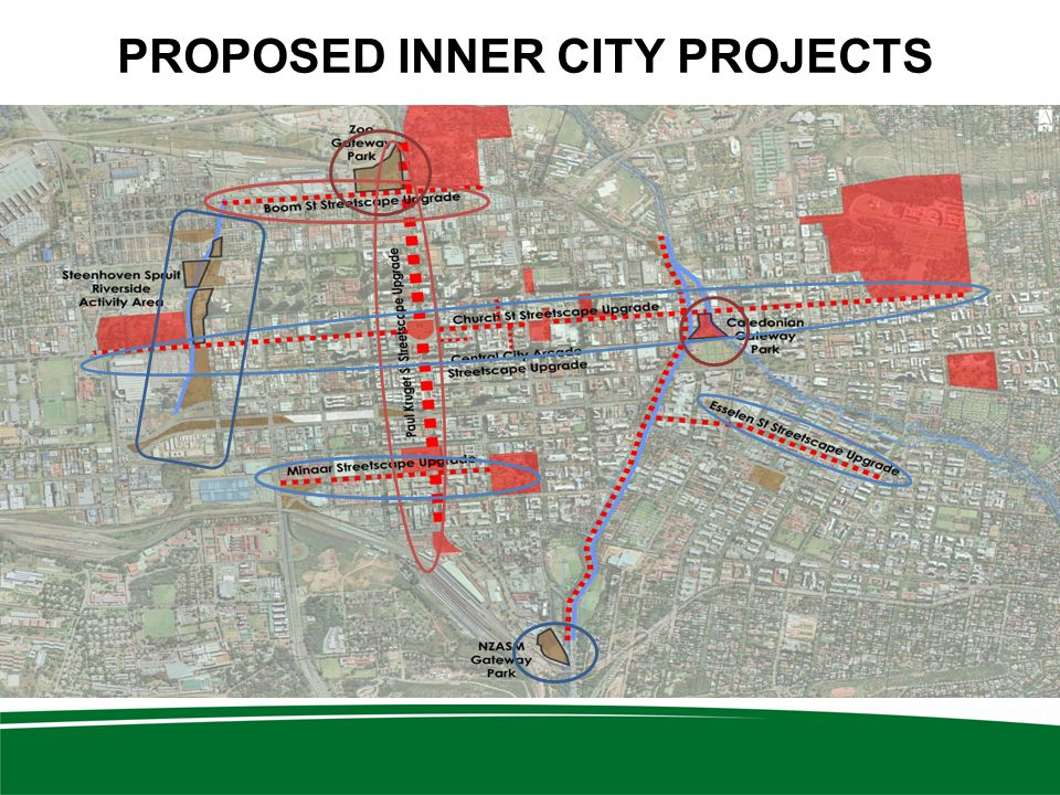 PROPOSED INNER CITY PROJECTS