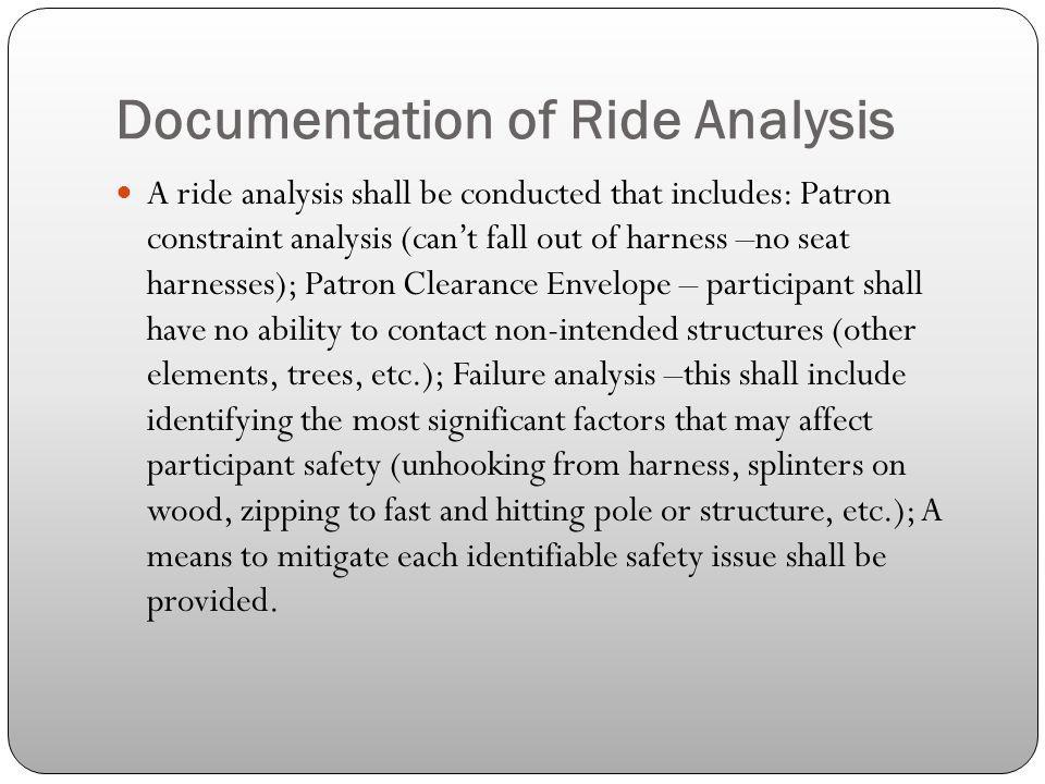 Documentation of Ride Analysis