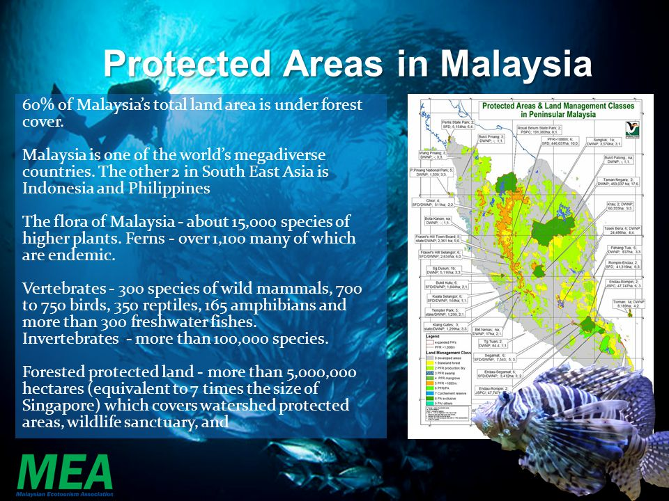 Protected Areas in Malaysia