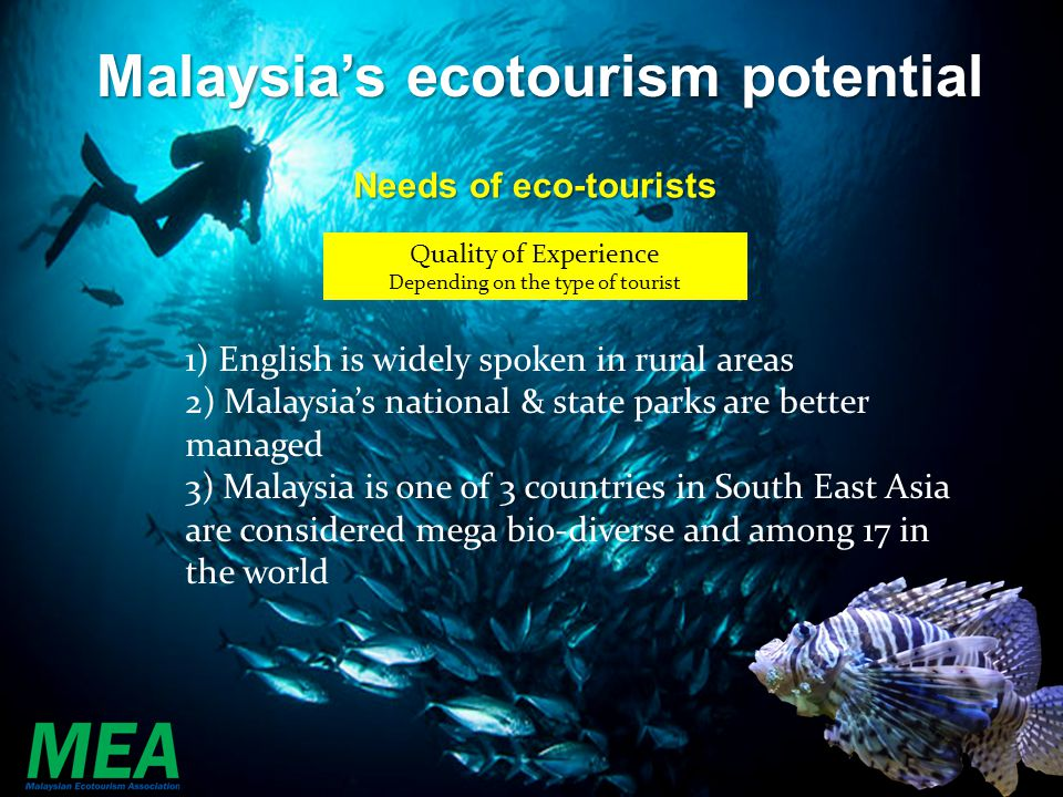 Malaysia's ecotourism potential