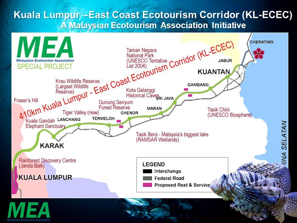 Kuala Lumpur –East Coast Ecotourism Corridor (KL-ECEC)