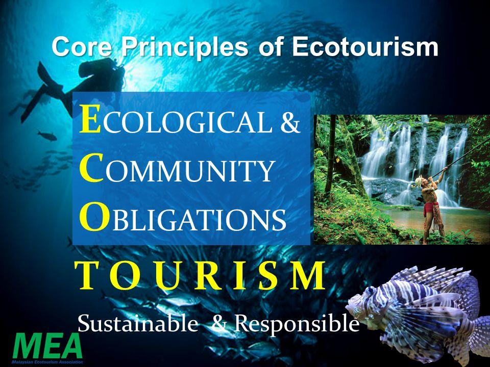 Core Principles of Ecotourism