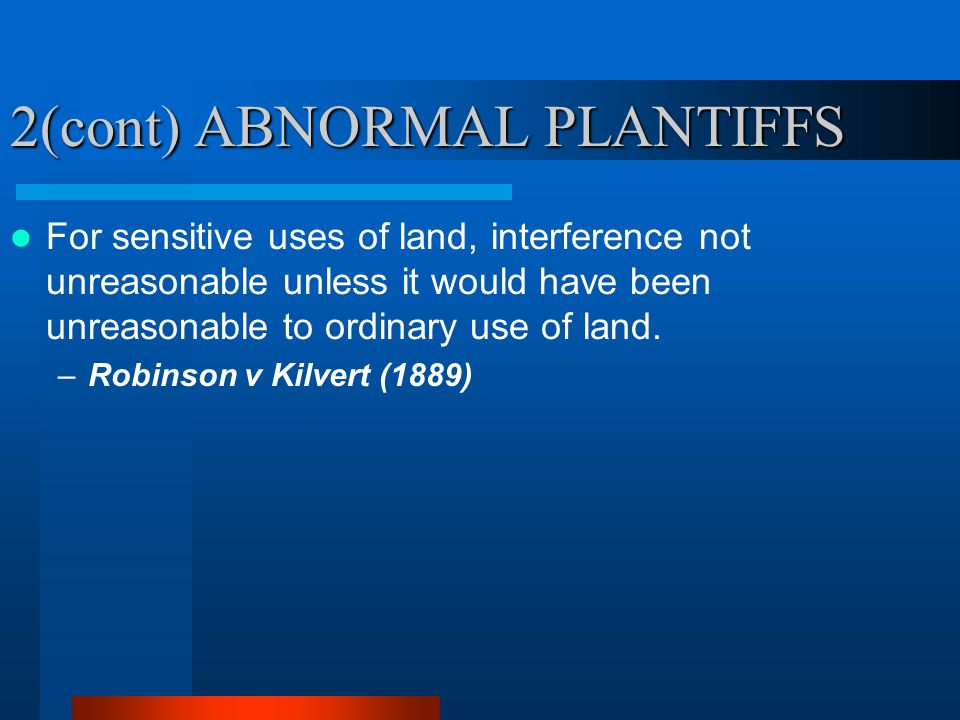 2(cont) ABNORMAL PLANTIFFS