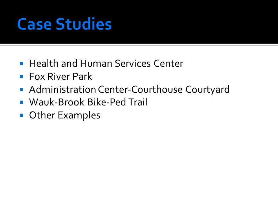 Case Studies Health and Human Services Center Fox River Park